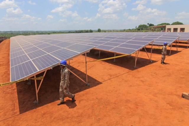 Planta solar fotovoltaica Cobija 5 MW