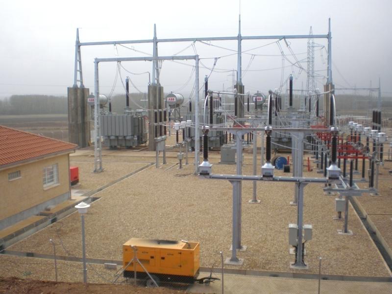 Subestación Villameca 400 kV