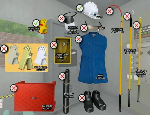 High Voltage Ppe : Manual segurança isastur